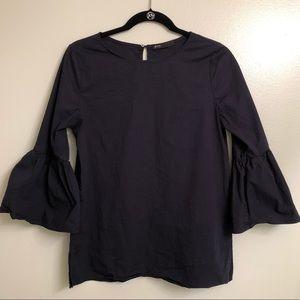 Gibson bell sleeve shirt